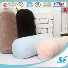 Конфеты цвета кораллового флиса защитить заднюю шею колонки подушки