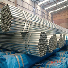 ERW Carbon Welded Round Section Echafaudages
