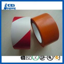 Brillante adhesivo fuerte color PVC cinta de marcado de piso