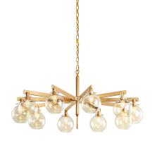 Cheap E27 Edison Bulb Chandelier Light Brief Contemporary Hanging Glass Pendant Lamp