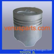 toyota used car spare parts 1E 2E 3E piston 13101-10033,13101-11050,13101-11081