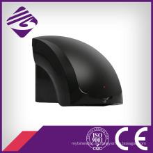 Negro montado en la pared pequeño ABS automático secador de manos (JN70904B)