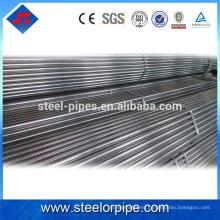 Tubo de acero galvanizado laminado en frío