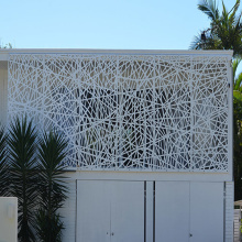 Architectural Aluminum Decorative Laser Cutting Wall Panel