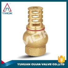 Válvula de alta calidad del carrete de cobre amarillo de la válvula de carrete del latón