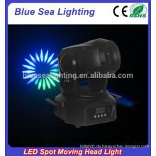 Factory-Preis 2015 neue 75w Mini-LED-Gobo-Projektor, Spot beweglichen Kopf