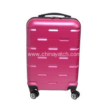 Pink Candy Color Girl Women Style Suitcase