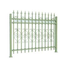 Prix concurrentiel Fabricant de clôture en acier décoratif