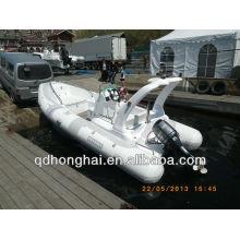 RIB580 barco inflável com motor de popa CE RIB580C
