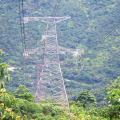 Torre de transmisión de potencia de ángulo de rotación de 220 kV