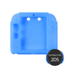 Étui en silicone 2DS de protection Deux couleurs assorties