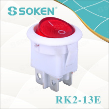 4 Pines Round Rocker Switches / 3 Position Switch 16A 250V