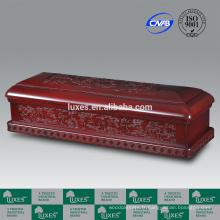 Coffret de LUXES Président-fées chinois artistiques des cercueils en bois avec des sculptures délicates