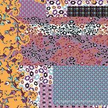 Digital Flower Printed Soft Fabric (TLD-0061)