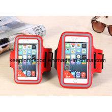 Moda de color rojo de 3 mm Neopreno y PVC caso del teléfono móvil