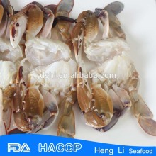 Frozen cut crab,three spot crabb with Fishing Certificate
