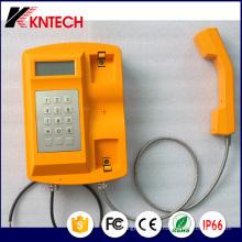 Teléfono impermeable del teléfono SIP (Knsp-18) Kntech