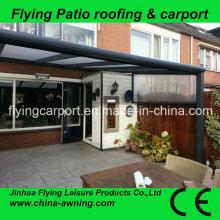 Balcony Awnings, Polycarbonate Covering Carport Canopy, Grade a Ten Years Warranty DIY Canopy
