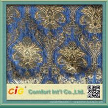 2016 Summer New Pattern Design Tissu de canapé Chenille pour ameublement
