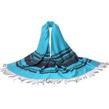 Echarpe à la mode Foulard à rayures douces pour femmes