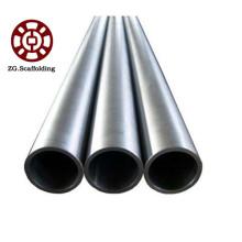 Tubería de acero galvanizado por inmersión en caliente de alta calidad.