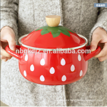 royal cute mini enamel pot for baby
