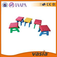 아이 들 유치원 아이 테이블 및의 자 플라스틱의 자 세트