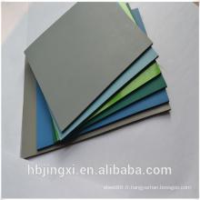 Deux couches brillantes ou émoussées ESD / tapis de table en caoutchouc antistatique / Matting
