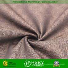Jacquard de padrão de flor com tecido de poliéster para jaqueta Casual