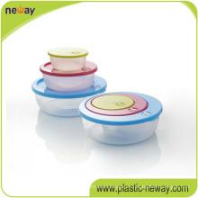 Multi-Uso Valley Cartoon Sweet Gift microondas plástico alimentos caso caja contenedores conjuntos