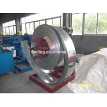 Manuel simple decoil machine d'enroulement en acier fabricant, Chine