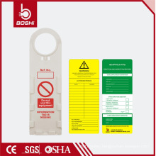 BRADY scaffolding tags !! Roung Hole Plastic High Quality Scaffolding Tag for Erection and Inspection Record BD-P33