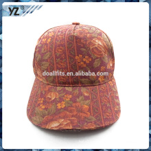 Diseño personalizado impreso gorra de béisbol LED con gran precio