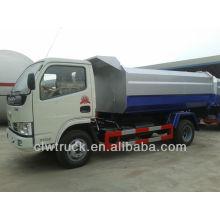 Dongfeng 5000litres elevador hidráulico camión de basura