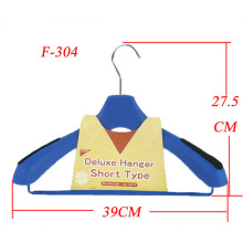 Factory produce wholesale plastic coat hanger for non-slip hanger strips