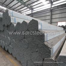Tuyau en acier pré-galvanisé ERW pour la construction