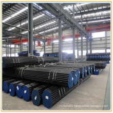 Chemical Industry Gas Transportation Tubing ASTM A53 ERW Steel Pipes