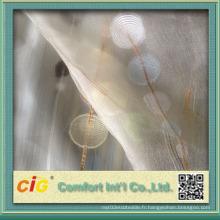 Voiles de rideaux en polyester