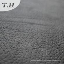 Fournisseur de tissu de daim gaufré pour le sofa