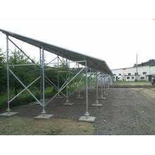 Solar Carport suporte sistemas PV Solar sistema de montagem