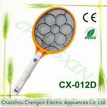 High Quality Rechargeable Electronic Mosquito Swatter with Flash Light