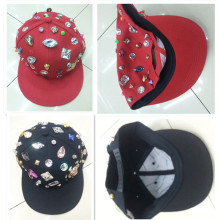 Cool Mode niet Studed Mode Snapback Cap Sport flachen Hut