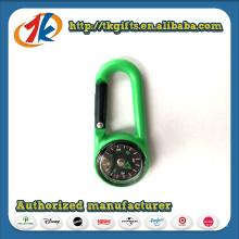 Porte-clés en plastique avec jouet boussole