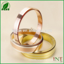 precious metal alloy silver inlay brass strip