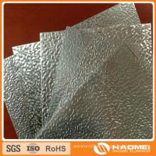 Folha de alumínio em relevo em estuque pintado para cobertura
