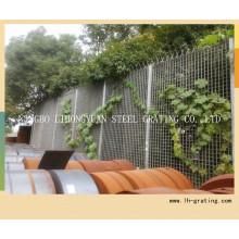 Grade cerca com alta qualidade de aço