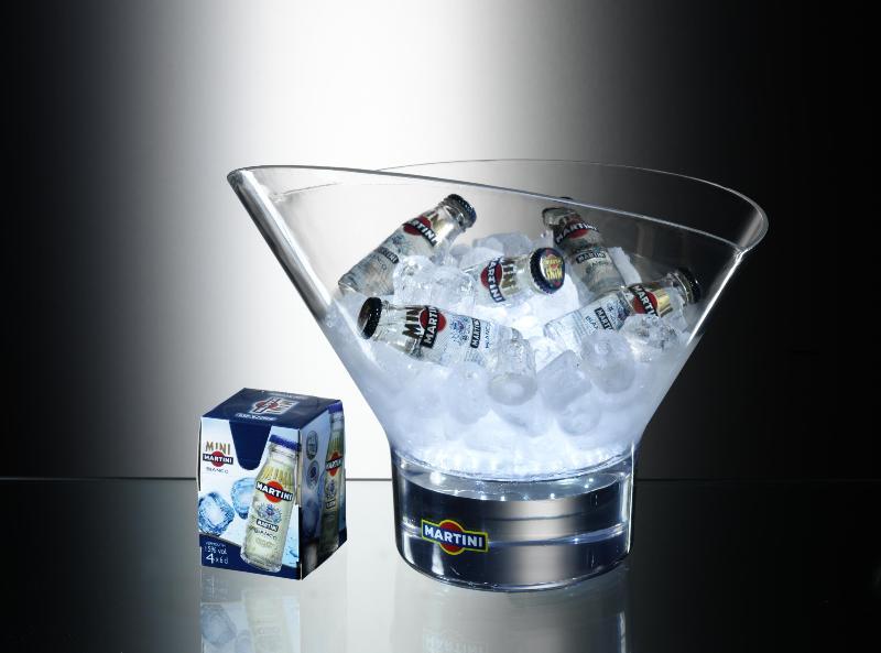 acrylic light ice bucket