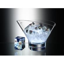 Cubo de hielo ligero acrílico