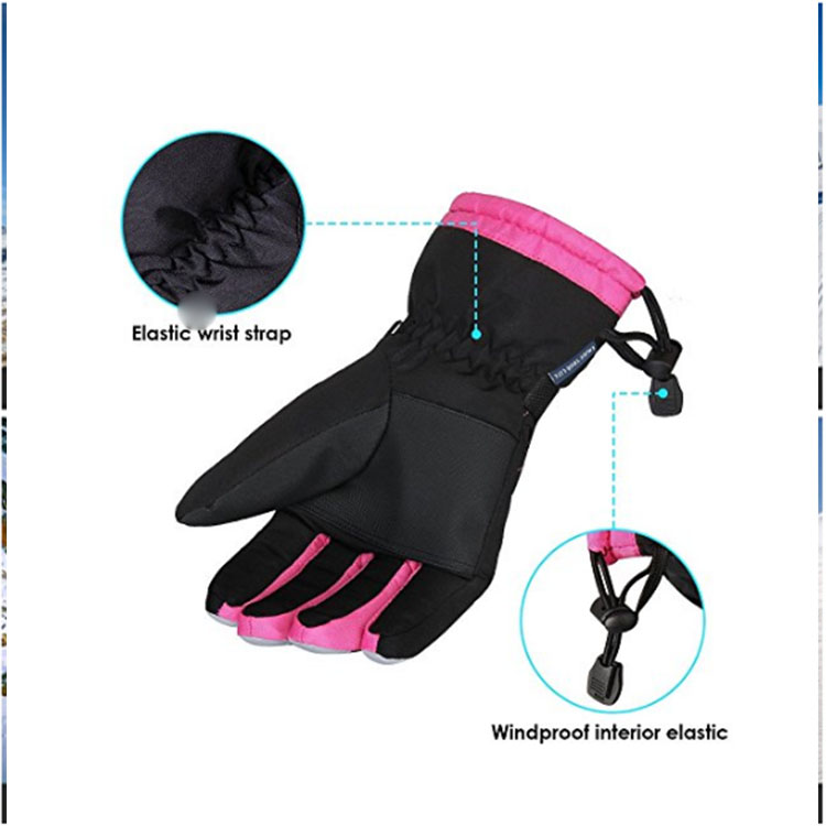 Striped Hockey Gloves For Women