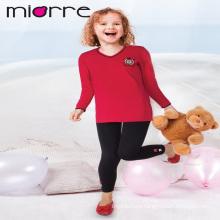 Miorre OEM al por mayor 100% algodón niños niñas ropa de dormir pijamas conjunto